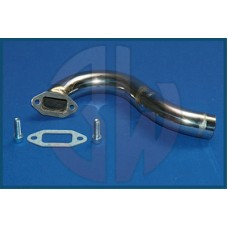 3W Exhaust Manifold 3W 42i / 50i / 55i, S- Shape, Stainless Steel