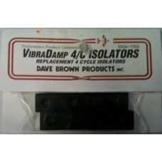 Dave Brown VibraDamp Replacement 4 Cycle Isolators (Set Of 4)