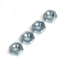 DUBRO Steel Hex Nuts,4-40