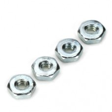 DUBRO Steel Hex Nuts,6-32