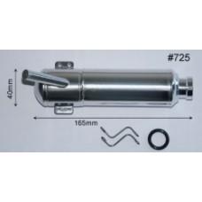 Hatori 725 Muffler For YS110 & FZ/DZ115S